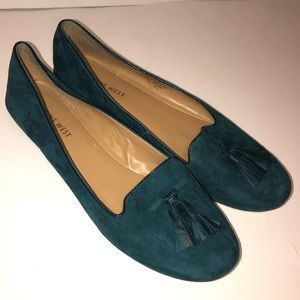 Nine West Tassel Suede Loafers